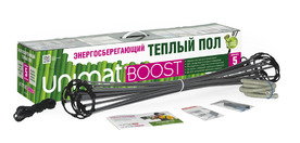 Стержневой теплый пол UNIMAT BOOST 160 Вт/м2, 25 пог/м