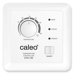 Терморегулятор CALEO UTH-120 встраиваемый аналоговый, 2,0 кВт