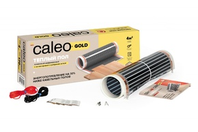 Пленочный теплый пол CALEO GOLD 170 Вт/м2, 3,5 м2