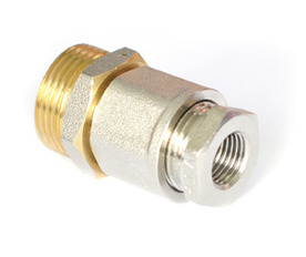 Муфта (сальник) для ввода нагревательного кабеля внутрь трубы