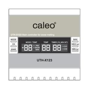Метеостанция двухканальная Caleo UTH-X123ST для систем обогрева кровли и площадок